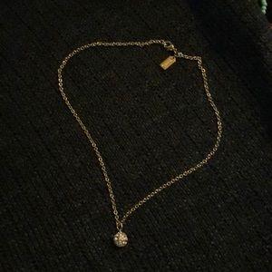 Pretty gold COACH necklace